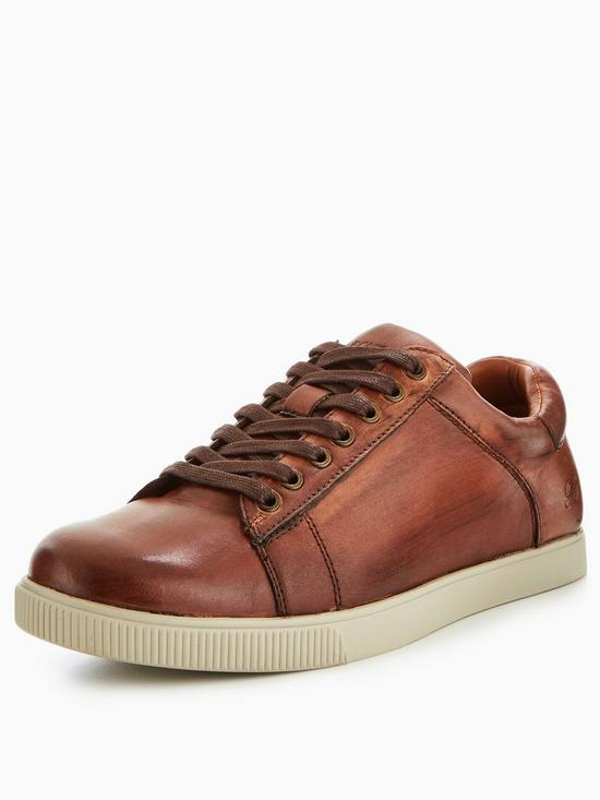 Skechers Men's Volden Fandom Tan Brown Lace Up Shoes UK 11 piNNqqsLo