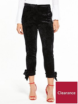 river-island-river-island-velvet-hem-cigarette-trousers--black