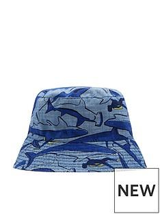 joules-boys-reversible-shark-print-sunhat