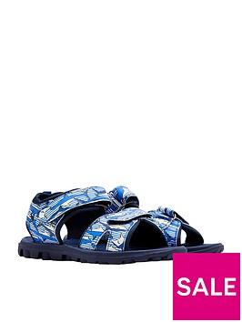 joules-boys-printed-canvas-sandal