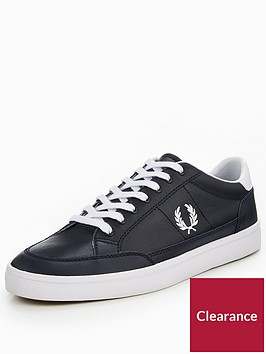 fred-perry-deuce-leather-plimsoll