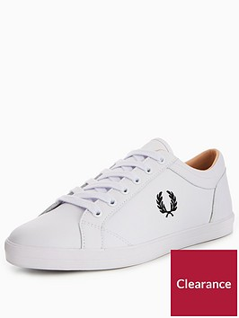 fred-perry-baseline-leather-plimsoll