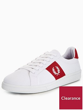 fred-perry-b721-canvas-plimsoll