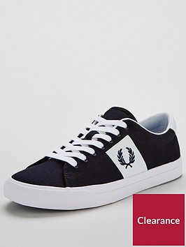 fred-perry-underspin-plastisol-twill-plimsolls