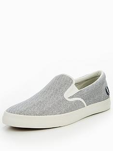 fred-perry-fred-perry-underspin-slip-on-printed-canvas-plimsoll