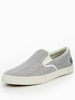 fred-perry-underspin-slip-on-printed-canvas-plimsolls