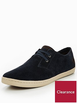 fred-perry-byron-low-suede-plimsolls