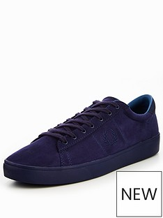 fred-perry-fred-perry-spencer-microfibre-plimsoll