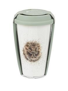 royal-worcester-wrendale-travel-mug-ndash-hedgehog