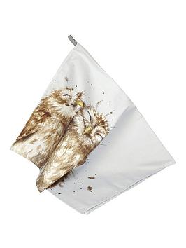 Royal Worcester Wrendale Tea Towel - Owl Review thumbnail