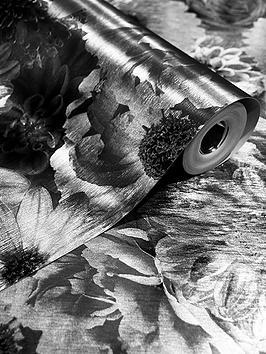 arthouse-foil-in-bloom-wallpaper-mono