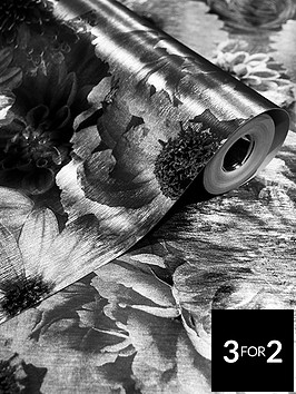 arthouse-foil-in-bloom-wallpaper-mono
