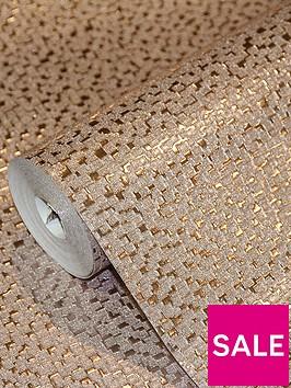 arthouse-mineral-foil-rose-gold-wallpaper