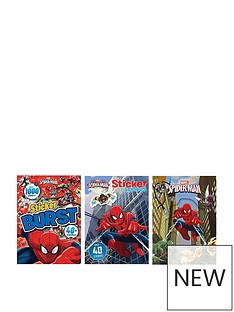 spiderman-marvel-spiderman-bundle-magical-storysticker-burststicker-scenes