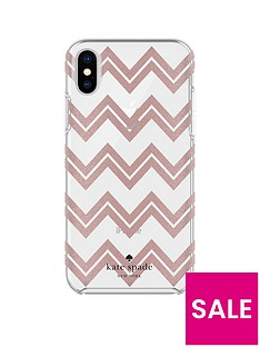 kate-spade-new-york-kate-spade-protective-hardshell-case-for-iphone-x--chevron-rose-gold-glitter