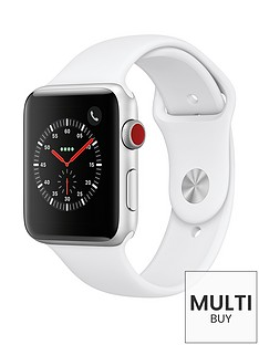 apple-watch-seriesnbsp3-2018-gpsnbspnbspcellular-42mm-silver-aluminium-case-with-white-sport-band