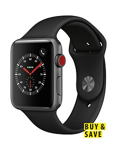 apple-watch-seriesnbsp3-2018-gpsnbspnbspcellular-42mm-space-grey-aluminium-case-with-black-sport-band