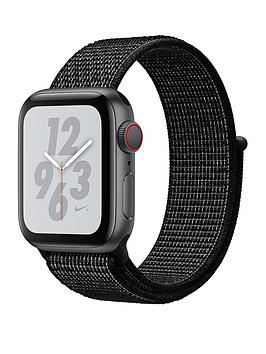 Compare prices with Phone Retailers Comaprison to buy a Apple Watch Nike+ Series 4 (Gps + Cellular), 40Mm Space Grey Aluminium Case With Black Nike Sport Loop
