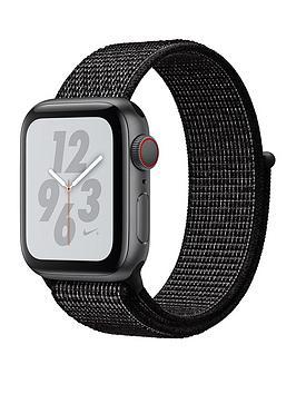 Buy Brand New Apple Watch Nike+ Series 4 (Gps + Cellular), 40Mm Space Grey Aluminium Case With Black Nike Sport Loop