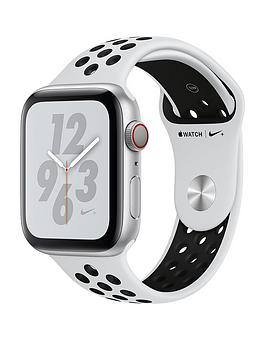 Compare prices with Phone Retailers Comaprison to buy a Apple Watch Nike+ Series 4 (Gps + Cellular), 44Mm Silver Aluminium Case With Pure Platinum/Black Nike Sport Band