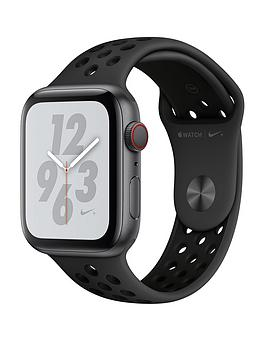 Apple Watch Nike+ Series 4 (Gps + Cellular), 44Mm Space Grey Aluminium Case With Anthracite/Black Nike Sport Band cheapest retail price