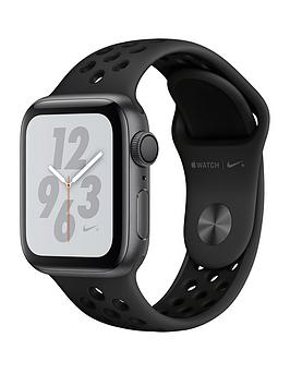 Compare prices with Phone Retailers Comaprison to buy a Apple Watch Nike+ Series 4 (Gps), 40Mm Space Grey Aluminium Case With Anthracite/Black Nike Sport Band