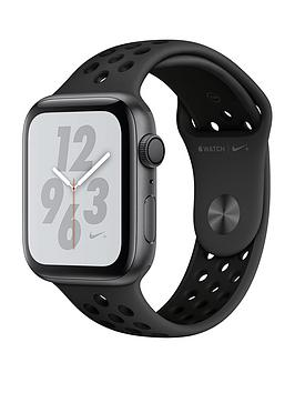 Buy Brand New Apple Watch Nike+ Series 4 (Gps), 44Mm Space Grey Aluminium Case With Anthracite/Black Nike Sport Band