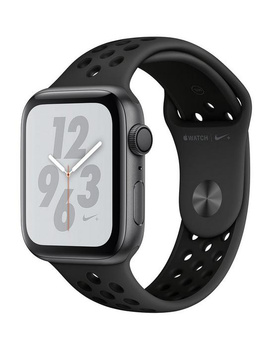 d087aa58f8 Apple Watch Nike+ Series 4 (GPS), 44mm Space Grey Aluminium Case with  Anthracite/Black Nike Sport Band