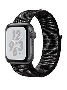 Buy Brand New Apple Watch Nike+ Series 4 (Gps), 40Mm Space Grey Aluminium Case With Black Nike Sport Loop