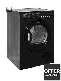 hotpoint-aquarius-tcfs835bgk-8kgnbspload-condenser-sensor-tumble-dryer-black