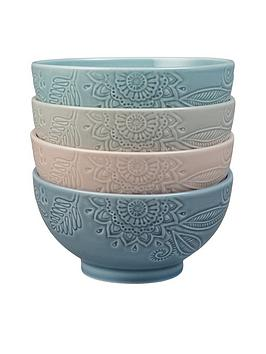 monsoon-denby-gather-set-of-4-medium-bowls