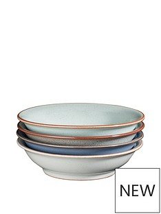 denby-always-entertaining-blues-4-piece-medium-shallow-bowl-set