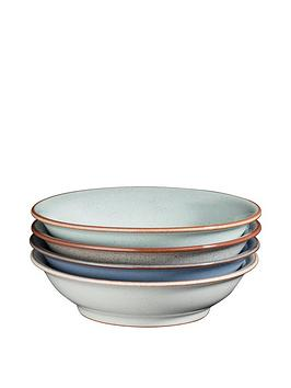 denby-always-entertaining-blues-4-piece-medium-shallow-bowl-set