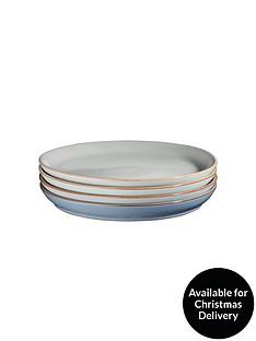 denby-always-entertaining-blues-4-piece-coupe-dinner-plate-set