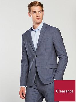 calvin-klein-super-100s-micro-check-suit