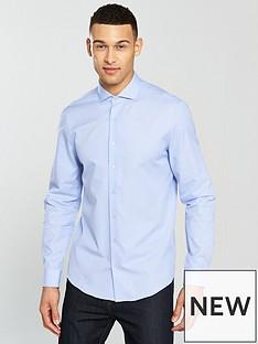 calvin-klein-calvin-klein-long-sleeve-mini-check-fitted-norwich-shirt