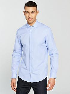 calvin-klein-long-sleeve-mini-check-fitted-norwich-shirt-blue