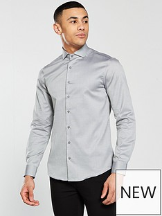 calvin-klein-calvin-klein-long-sleeve-plain-fitted-norwich-shirt