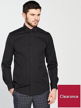 calvin-klein-long-sleeve-plain-fitted-cannes-shirt