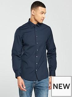 calvin-klein-calvin-klein-long-sleeve-plain-fitted-cannes-shirt