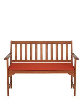 garden-bench-cushion-burnt-orange