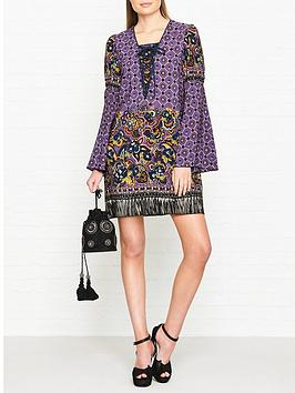 anna-sui-paisley-fringe-border-long-sleeve-dress-purple