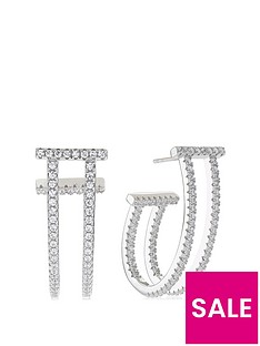 sif-jakobs-sterling-silver-rhodium-plated-fucino-lungo-earrings-with-cubic-zirconia