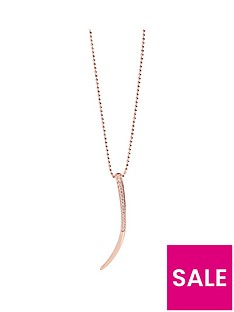 sif-jakobs-sterling-silver-18ct-rose-gold-plated-amalfi-pendant-with-cubic-zirconia