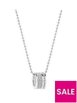 sif-jakobs-sterling-silver-rhodium-plated-corte-piccolo-pendant-with-baguette-cubic-zirconia