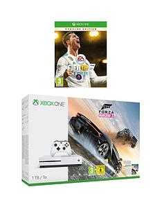 xbox-one-s-1tbnbspconsole-with-forza-horizon-3-hot-wheels-and-fifanbsp18-ronaldo-editionnbspplus-optional-extra-wireless-controller-andor-12-months-xbox-live-gold