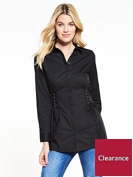 v-by-very-longline-corset-shirt-black