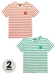 mini-v-by-very-boys-2-pack-slub-jersey-stripe-tees