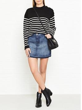 j-brand-mini-denim-a-line-skirt-ambition