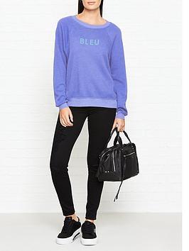 wildfox-bleu-sweatshirt-blue